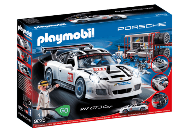 The New Porsche 911 GT3 Cup Building Set by PLAYMOBIL