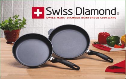 Swiss Diamond XD 2 PIECE SET: FRY PAN DUO