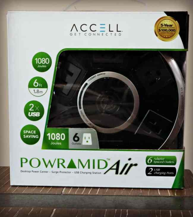 The Coolest Charging Station - Powramid Air Power Center with USB