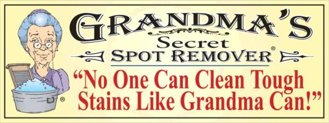Back to School Cleaning with Grandma's Secret Products