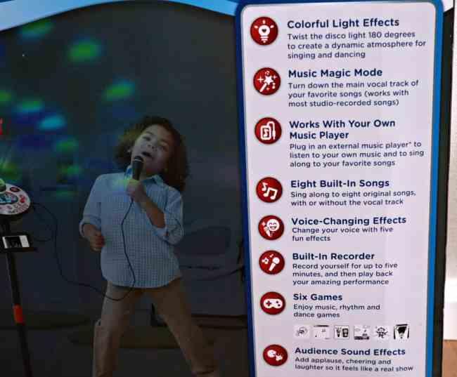 Bring Music Class Home with the VTech Kidi Star Karaoke Machine