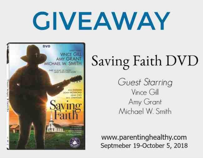 Saving Faith DVD Giveaway
