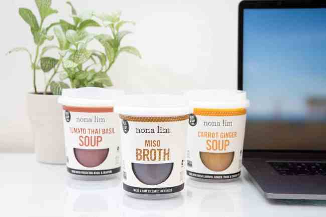 Comfort Food Bone Broth Cups from Nona Lim