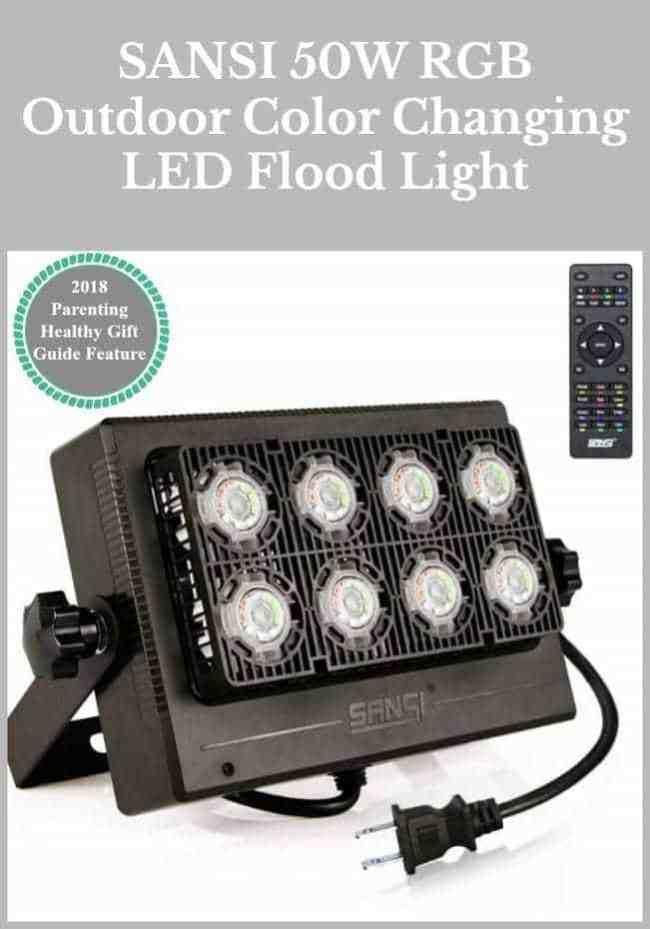 SANSI 50W RGB Outdoor Color Changing LED Flood Light