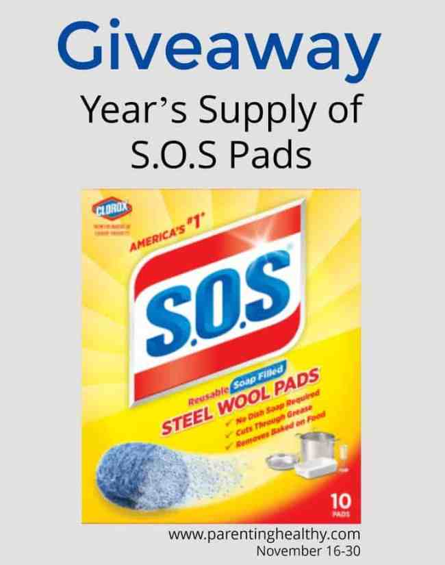 Fun Facts about Holiday Hosting and S.O.S Steel Wool Soap Pads Giveaway