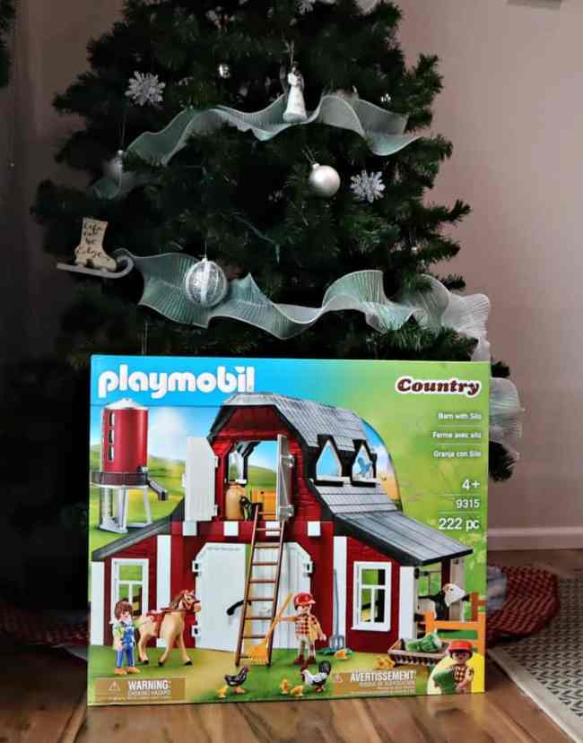 playmobil Barn with Silo Country Building Set