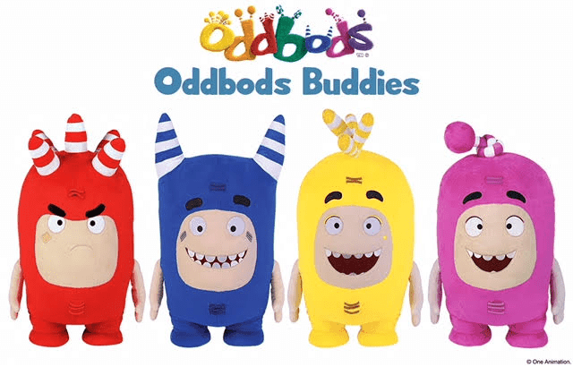 Oddbods Buddies Large Plush Now Available