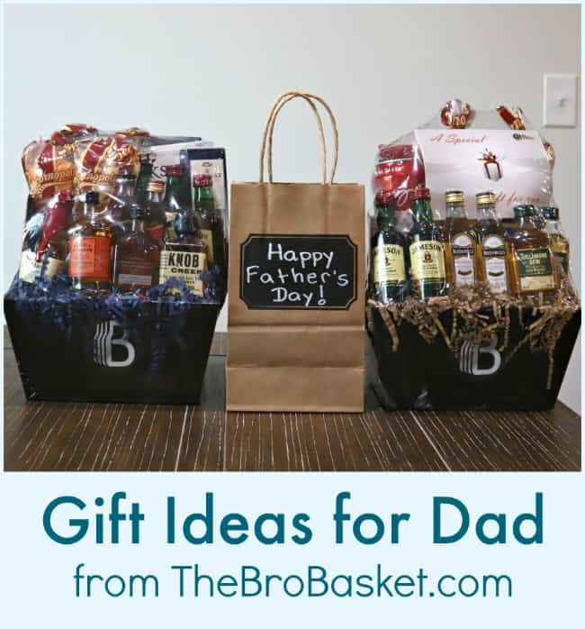 Gift Ideas for Dad from TheBroBasket.com