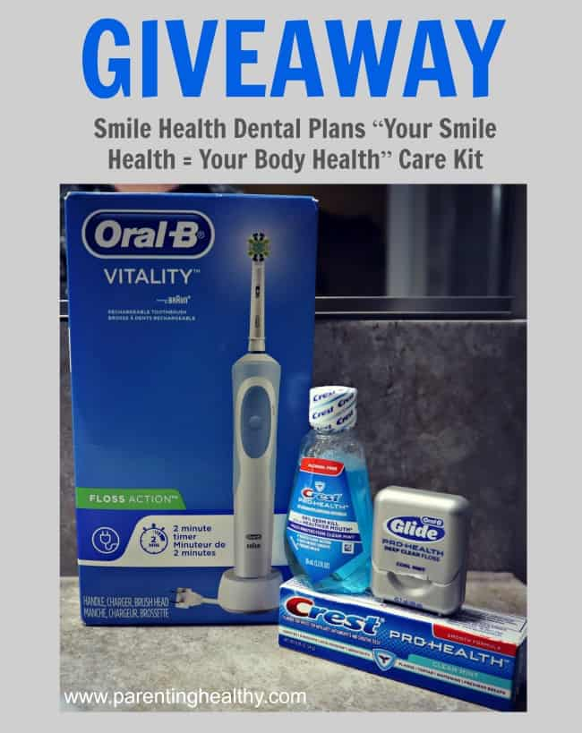 Oral health giveaway