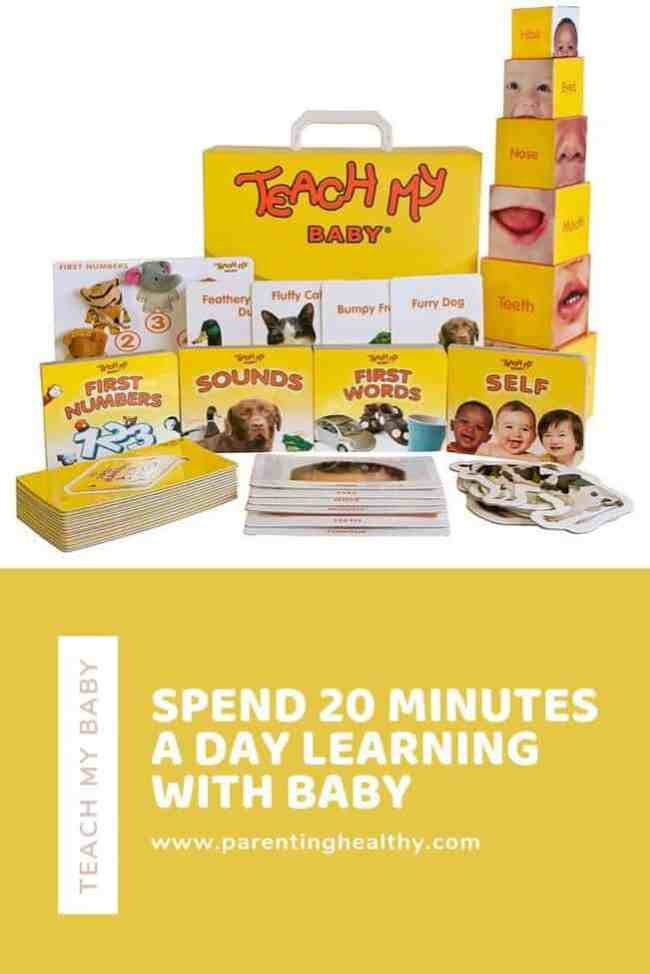 Teach My Baby Learning Kit - Spend 20 Minutes a Day Learning with Baby