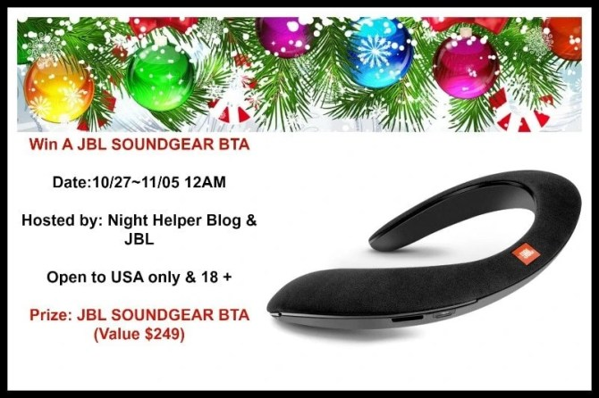 JBL SoundGear BTA Headphones Giveaway