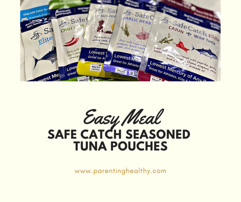 Easy Meal with Safe Catch Seasoned Tuna Pouches
