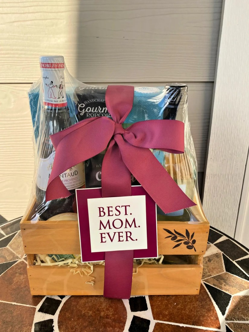 Let Mom Know Her Gift Basket is On It's Way from GourmetGiftBaskets.com