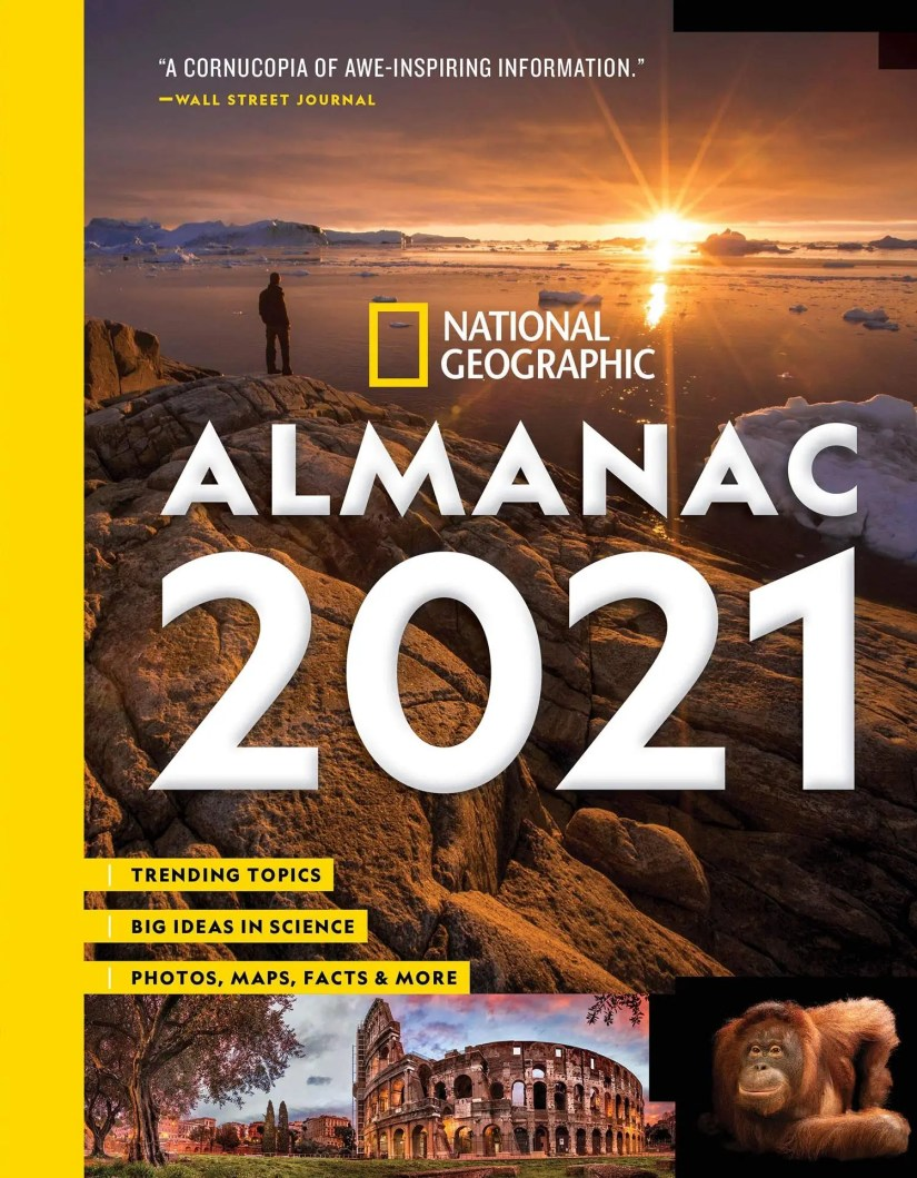 National Geographic Almanac 2021 available in September