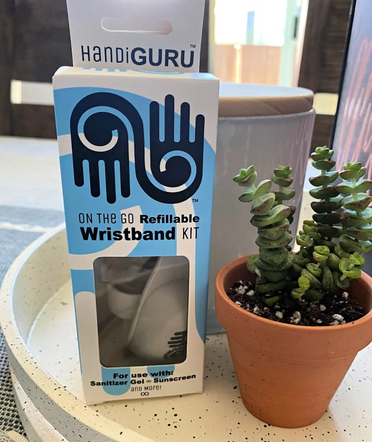 HandiGuru provides wearable protection from germs, sun, and bugs