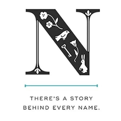 Name Stories personalized name print
