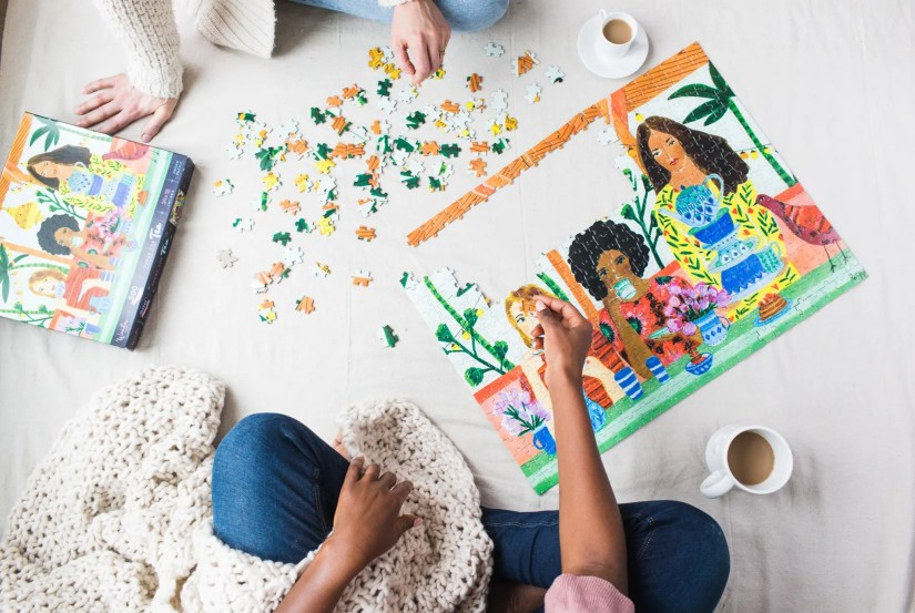 Wander Puzzle is making connections with women through their designs