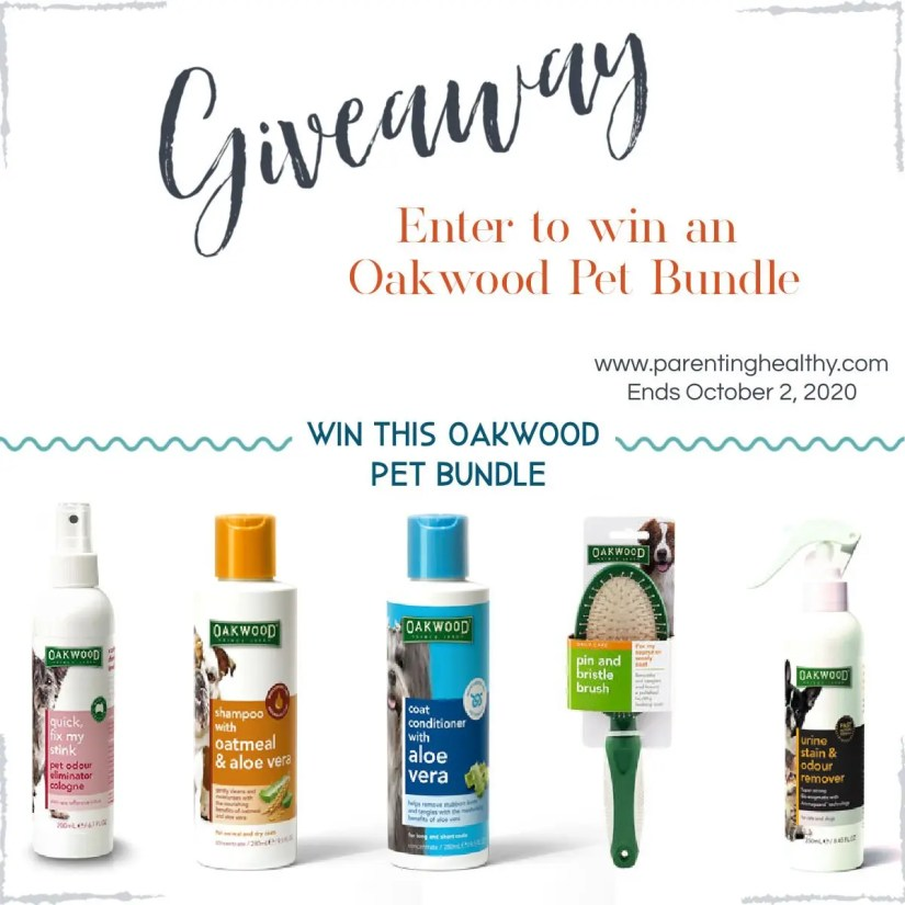 Oakwood Pet Products Offers Our Favorite Dog Shampoo | Giveaway