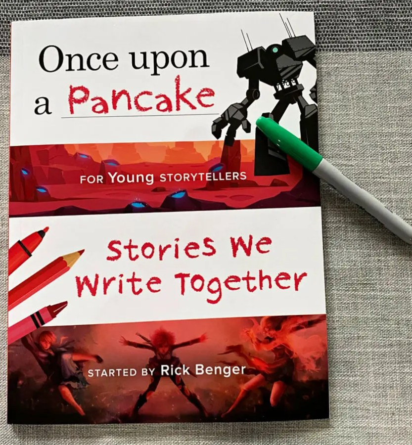 New Book Release - Once Upon a Pancake, Stories We Write Together