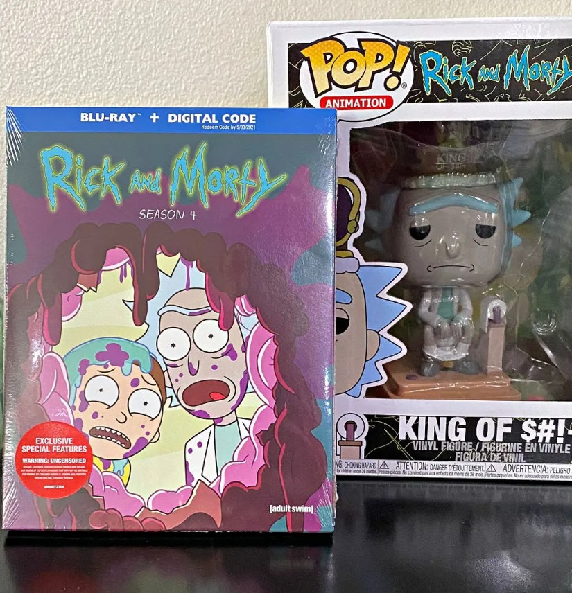 Rick and Morty: Season 4 now available on Blu-ray and DVD