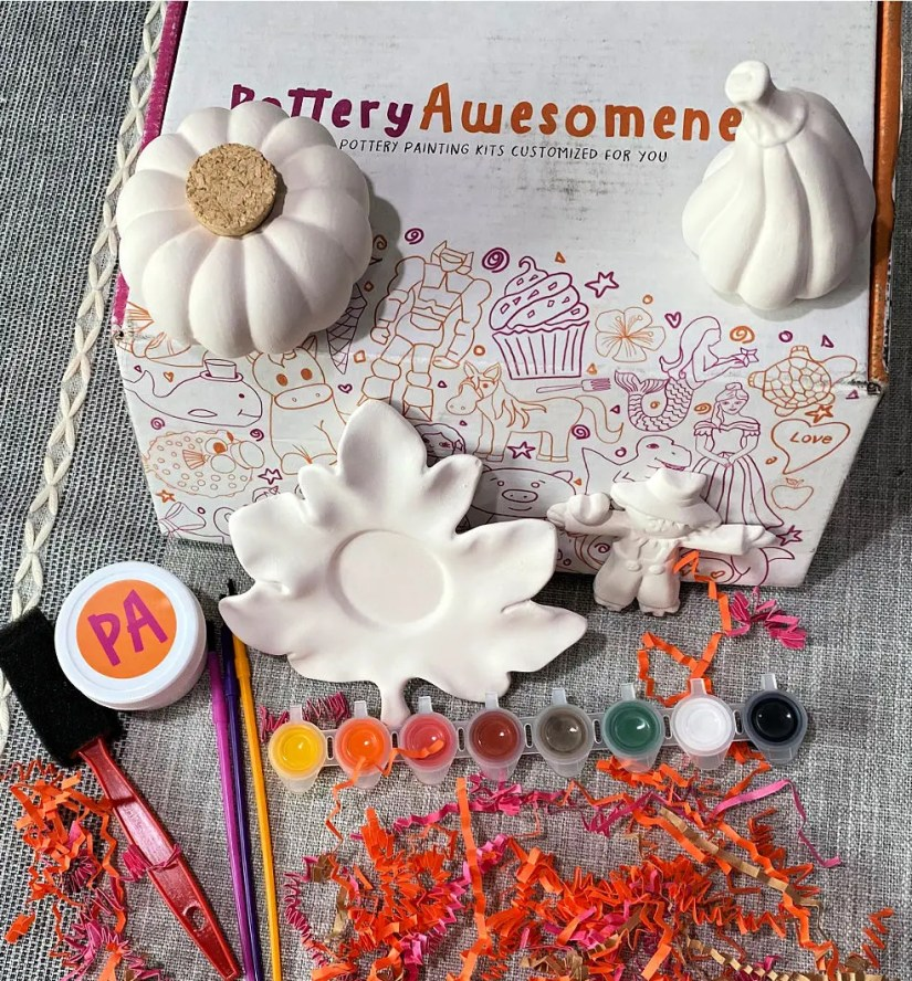 Pottery Awesomeness is the perfect family project