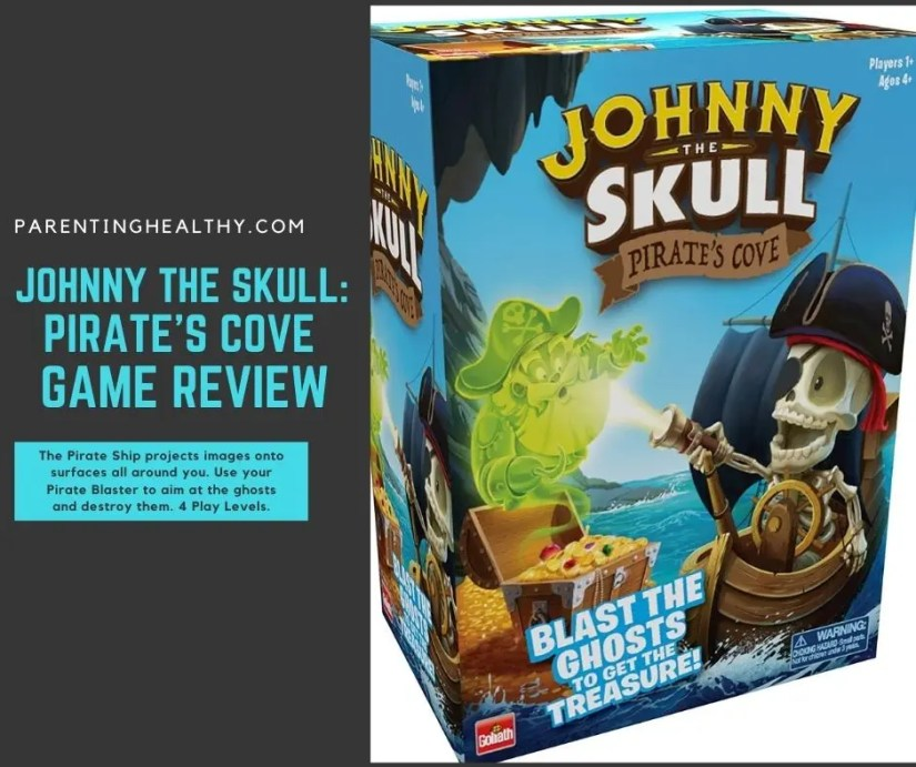 Toy Review - Johnny the Skull: Pirates' Cove from Goliath Games