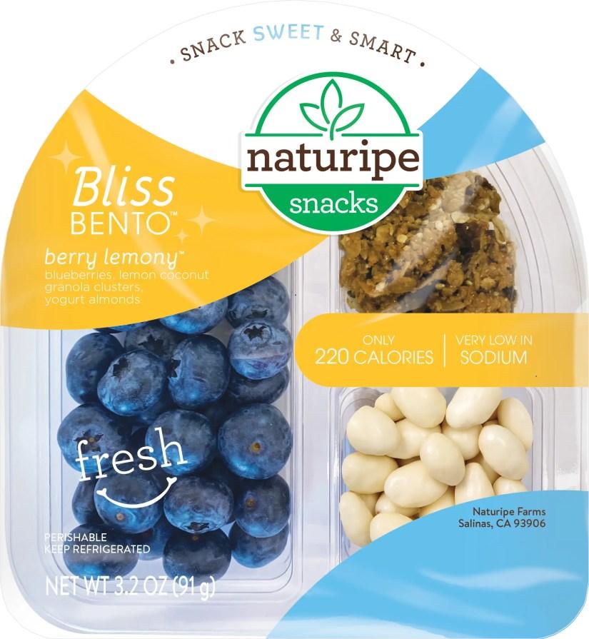 Naturipe Snacks™ Bliss and Boost Bento Snacks