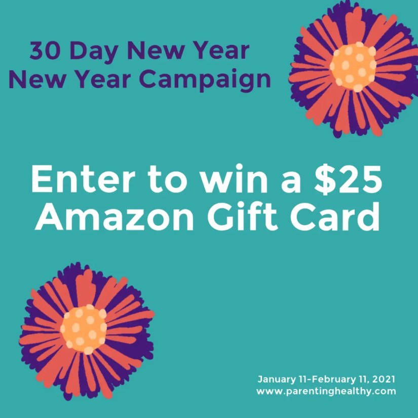 New Year New You Campaign $25 Amazon Gift Card Giveaway