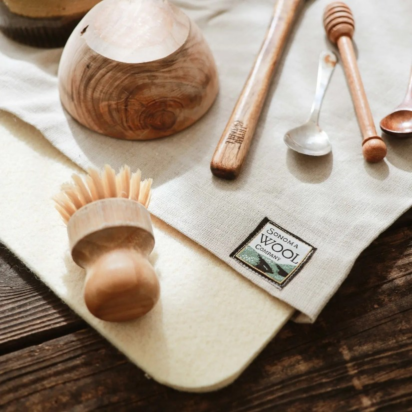 Sonoma Wool Co.: - Eco-friendly, Natural Dish Drying Mat
