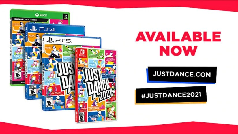 Start a dance party your friends and family with Just Dance 2021