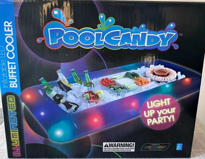 PoolCandy Inflatable LED Indoor/Outdoor Deluxe Buffet