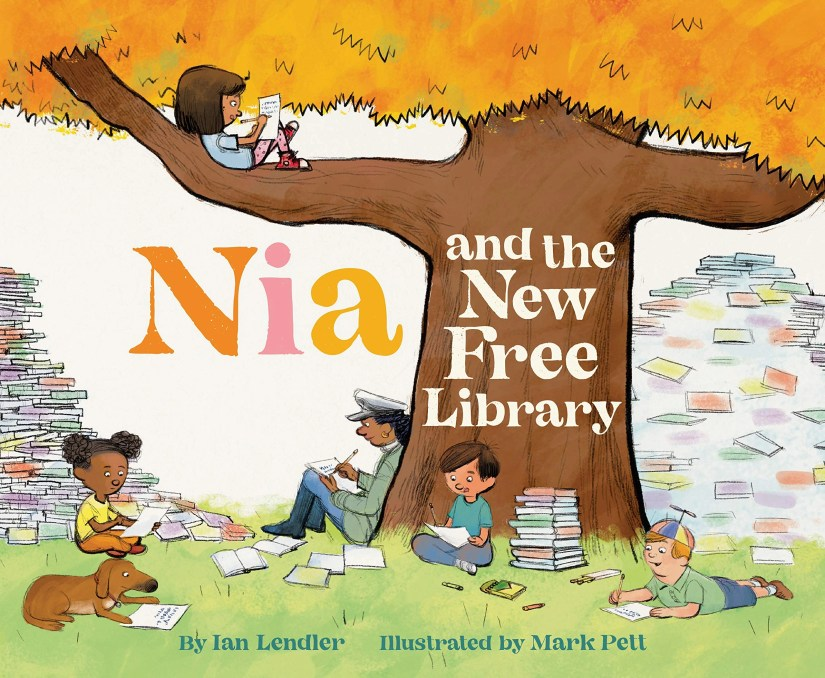 Nia and the New Free Library New Release Children's Book