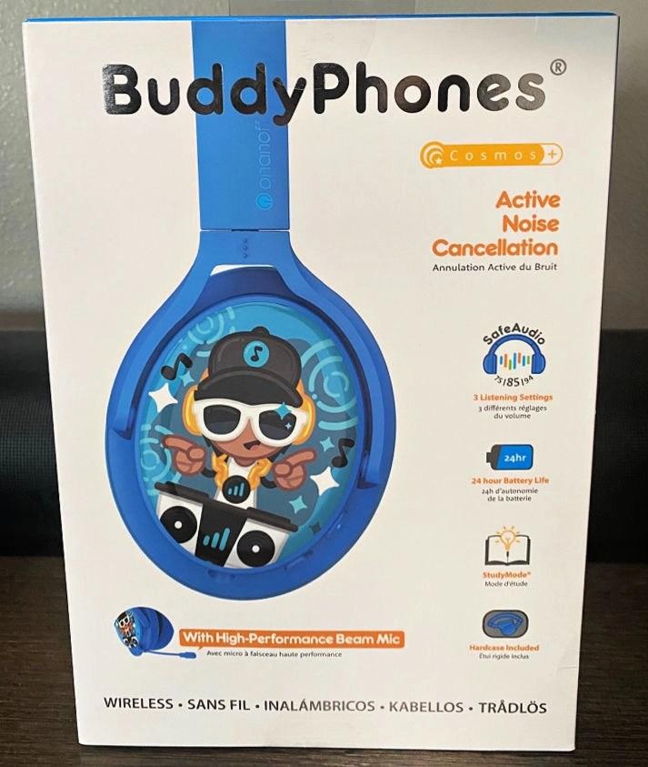 ONANOFF Expands BuddyPhones+ Series with Cosmo+ Headphones