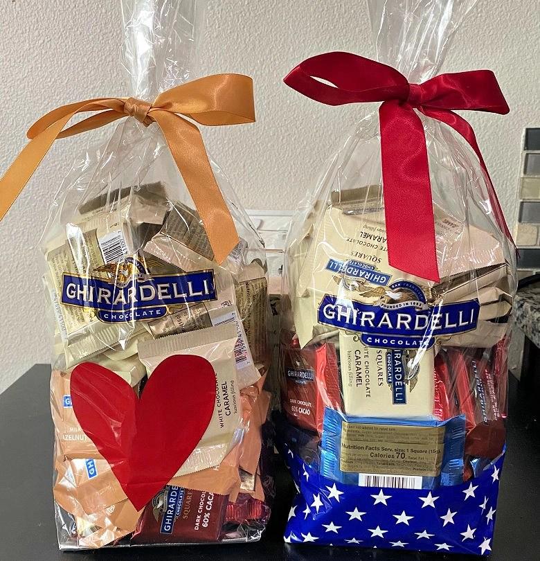 Ghirardelli bags
