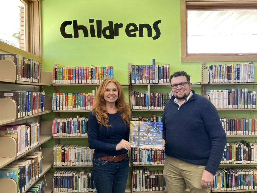 Kids can read along with Author, Carla Crane Osborne at Gonas Reading Ranch