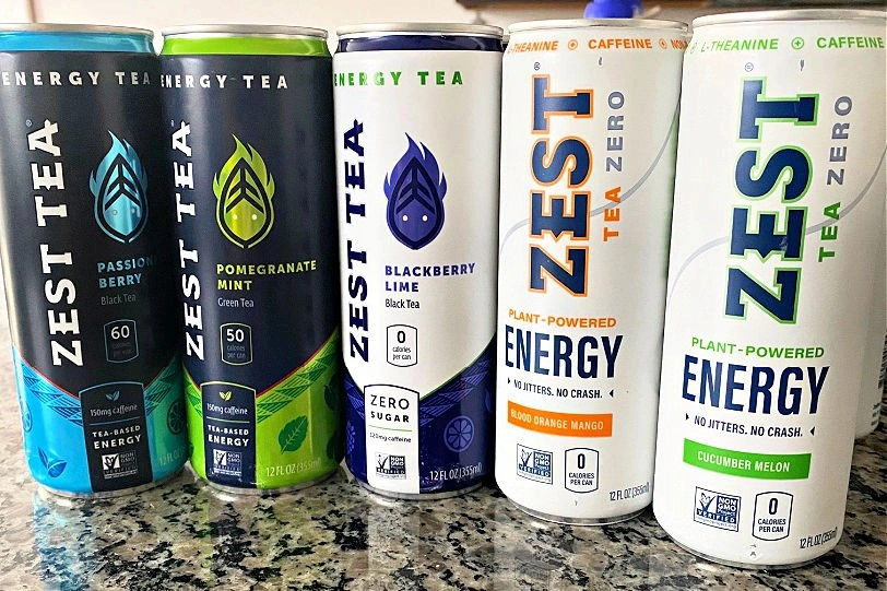 Award-Winning ZestTea Energy Review ad Giveaway and Savings