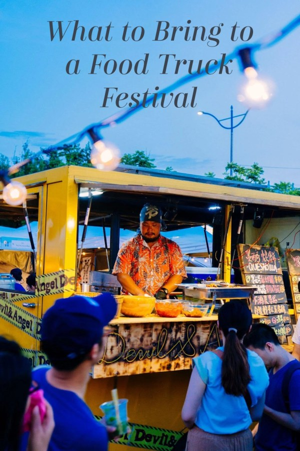What to Bring to a Food Truck Festival