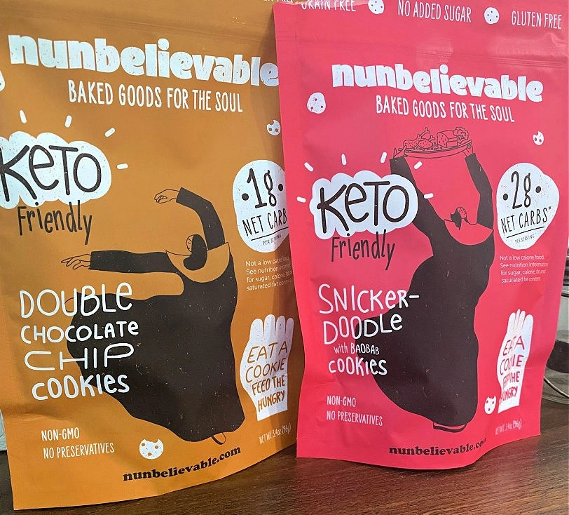 Keto-Friendly Cookies that actually taste good from Nunbelievable