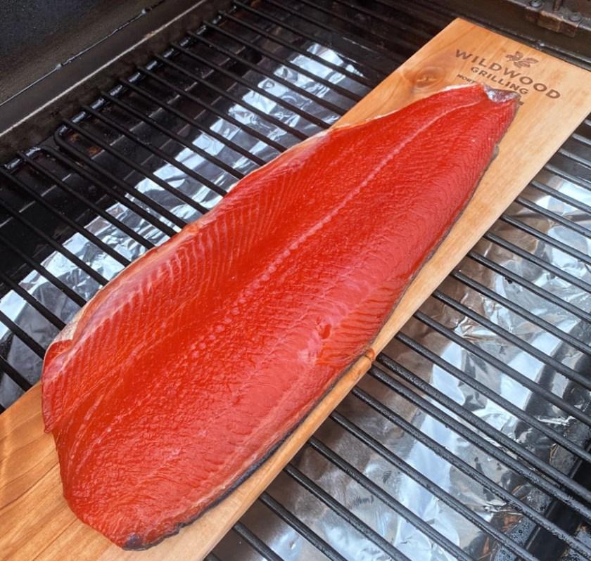 Smoked Salmon Recipe using Wildwood Grilling Alder Grilling Planks