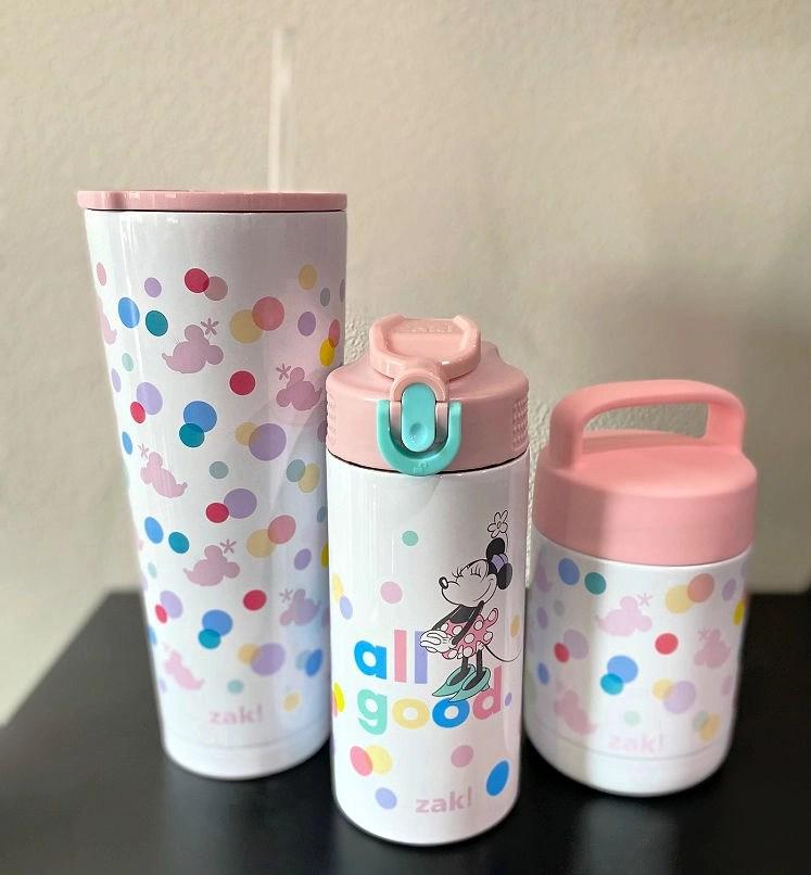 Zak's new back-to-school products include Mickey, Minnie and Lilo & Stitch