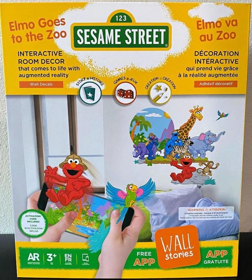 Sesame Street wall art