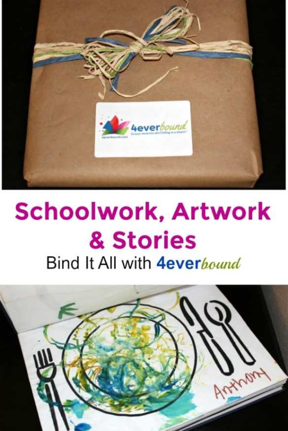 Bind Schoolwork, Artwork and Stories with 4everBound