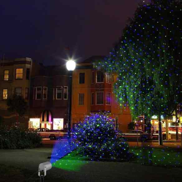 starry laser lights projection christmas lights moving laser