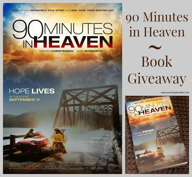 90 Minutes in Heaven Movie edition Book Giveaway