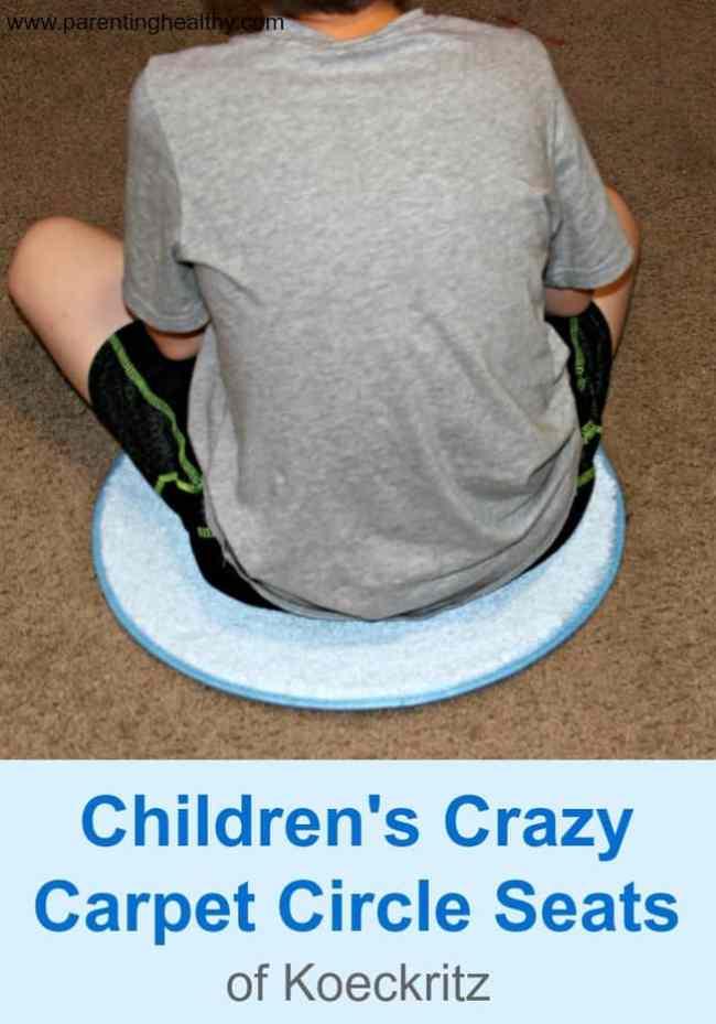Children's Crazy Carpet Circle Seats - Review