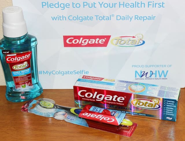 Refresh, Restore and Repair with Colgate Total Daily Repair