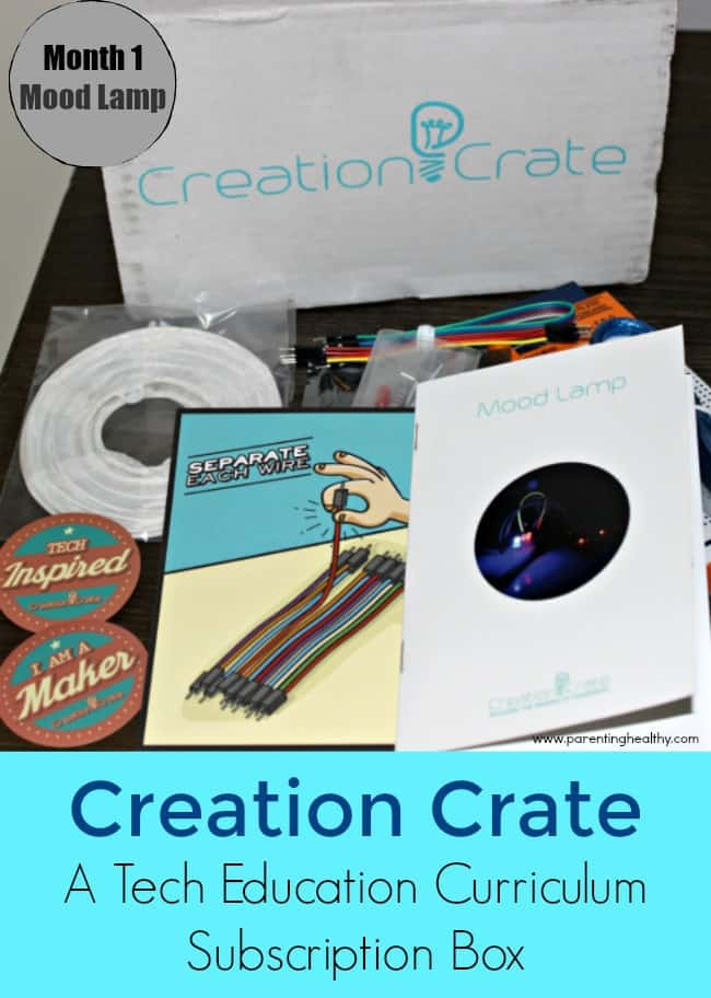 Creation Crate - A Tech Education Curriculum Subscription Box