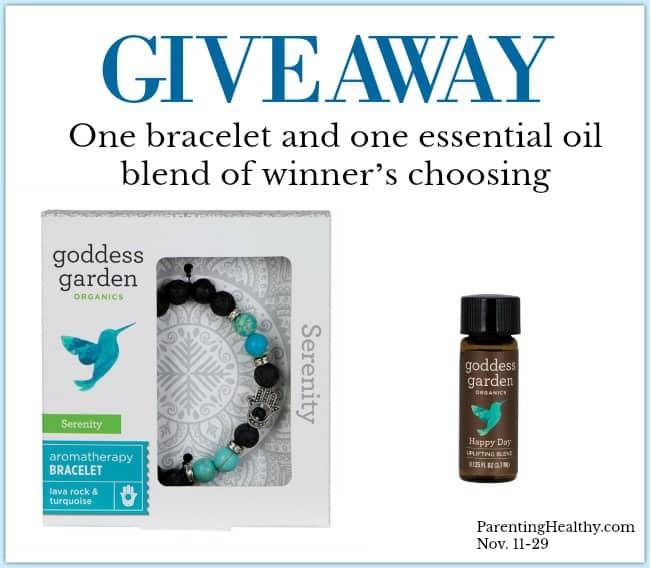 Goddess Garden Aromatherapy Bracelet - Giveaway