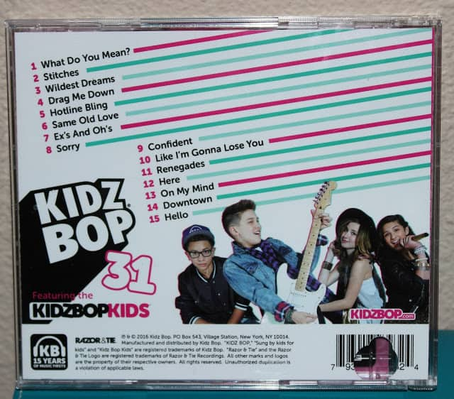 Kidz Bop 31 Track List | Parenting Healthy