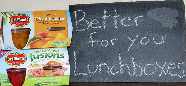 Del Monte Savings for lunchbox items